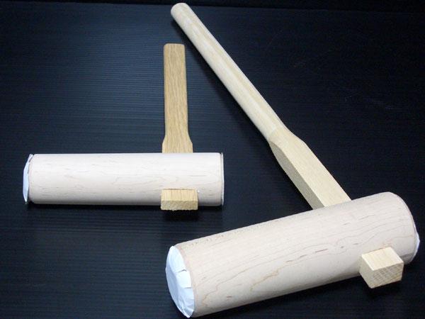 餅つき用 杵 子供用(幼児から低学年用)大小2本セット【送料無料】