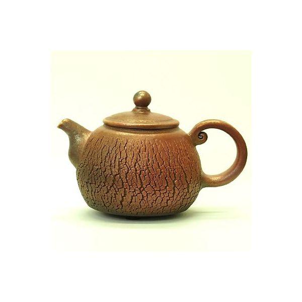 台湾茶器 創作柴焼茶壺 劉孟函 817