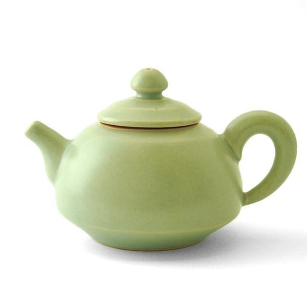 台湾茶器 許徳家 茶壺(青磁J280C)