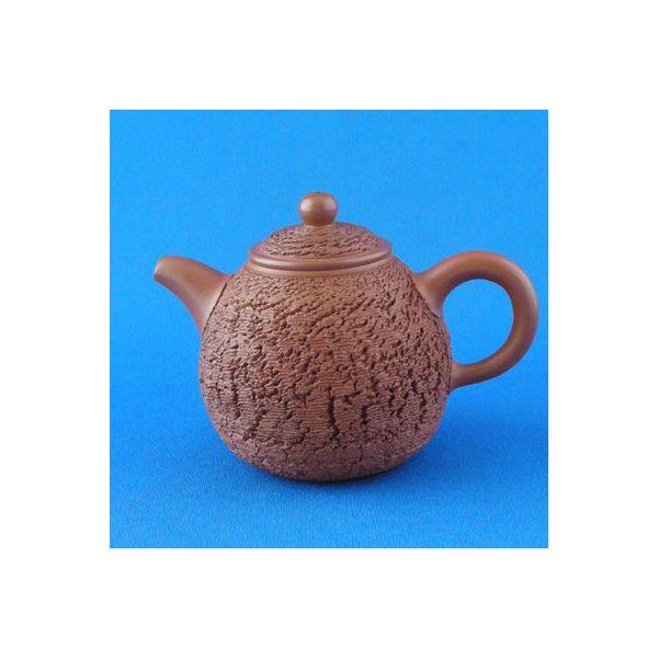 台湾茶器 李崑明 茶壺(朱泥5654)