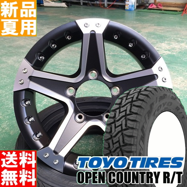 セット MUDVANCE01 R/T ラジアル COUNTRY Weds 16×5.5J+22 185/85R16 ホイール 16インチ 4本 オフロード仕様 5/139.7 タイヤ TOYOTIRES/トーヨータイヤ 夏用 新品 OPEN