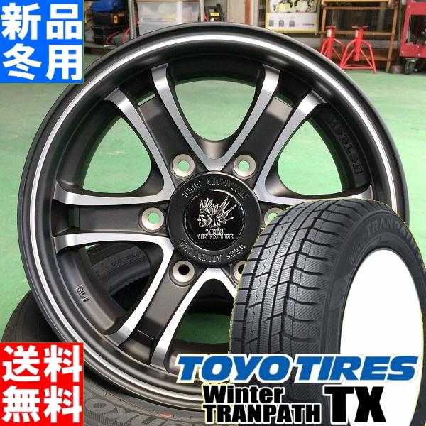 トーヨータイヤ TOYOTIRES ウィンタートランパス TX winterTRANPATH TX 215/65R16 冬用 新品 16インチ スタッドレス タイヤ ホイール 4本 セット KEELER FORCE 16×6.5J+38 6/139.7