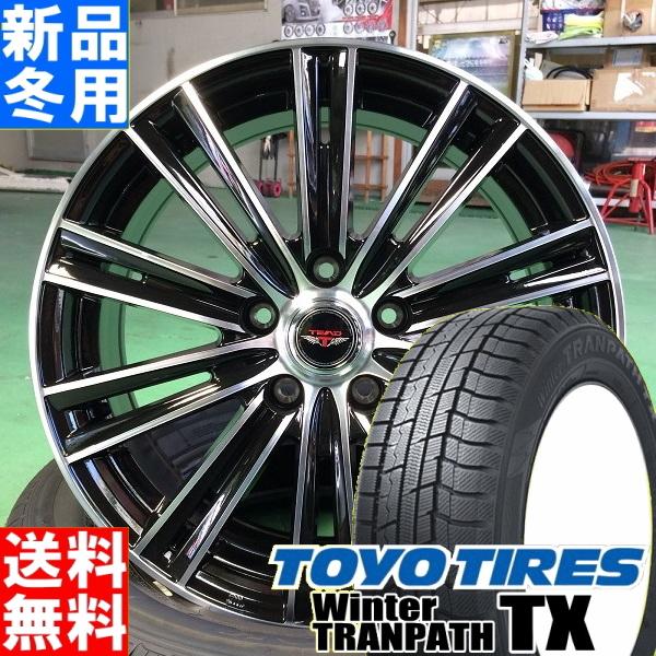 トーヨータイヤ TOYOTIRES ウィンタートランパス TX winterTRANPATH TX 215/60R17 冬用 新品 17インチ スタッドレス タイヤ ホイール 4本 セット TEAD SNAP 17×7.0J +40 +47 +53 5/100 5/114.3
