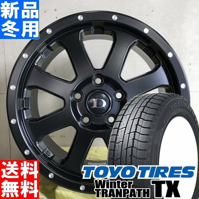トーヨータイヤ TOYOTIRES ウィンター トランパス TX winter TRANPATH 215/70R16 冬用 新品 16インチ スタッドレス タイヤ ホイール 4本 セット DV SCALA 16×7.0J+42 5/114.3
