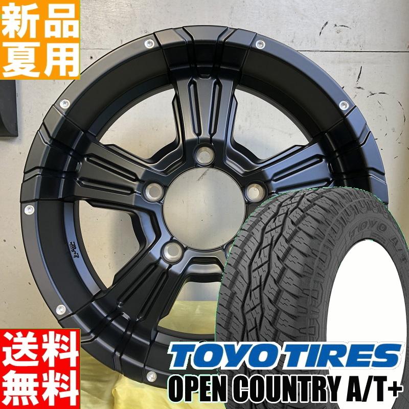 トーヨータイヤ TOYOTIRES オープンカントリー A/T+ OPENCOUNTRY 175/80R16 サマータイヤ ホイール 4本 セット 16インチ オフロード仕様 NITROPOWER CROSSCLAW 16×5.5J+22 5/139.7 夏用 新品