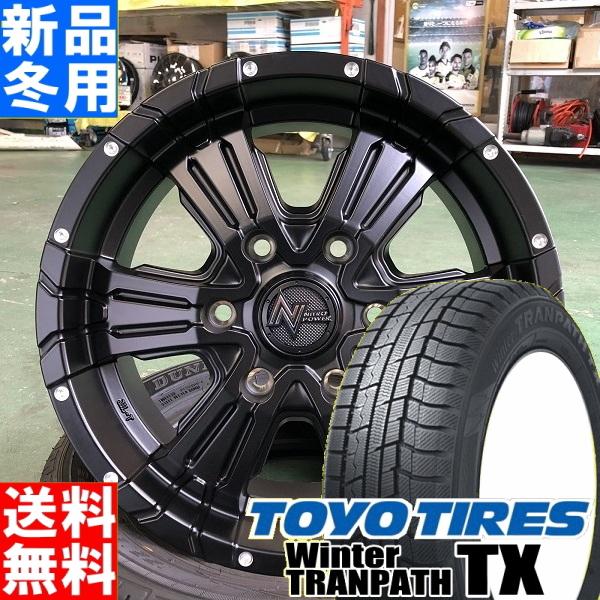 トーヨータイヤ TOYOTIRES ウィンタートランパス TX winterTRANPATH TX 215/65R16 冬用 新品 16インチ スタッドレス タイヤ ホイール 4本 セット NITRO POWER CROSS CLAW 16×6.5J+48 6/139.7