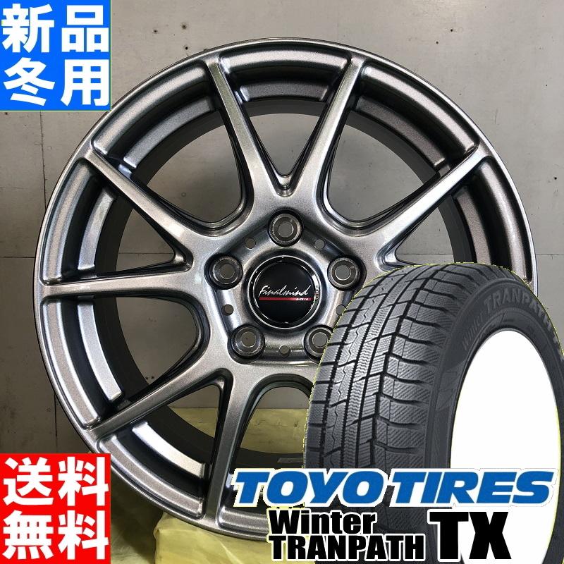 トーヨータイヤ TOYOTIRES ウィンタートランパス TX TRANPATH 215/65R16 スタッドレスタイヤ ホイール 4本 セット 16インチ FINAL MIND GR-Nex 16×6.5J+38 5/114.3 冬用 新品