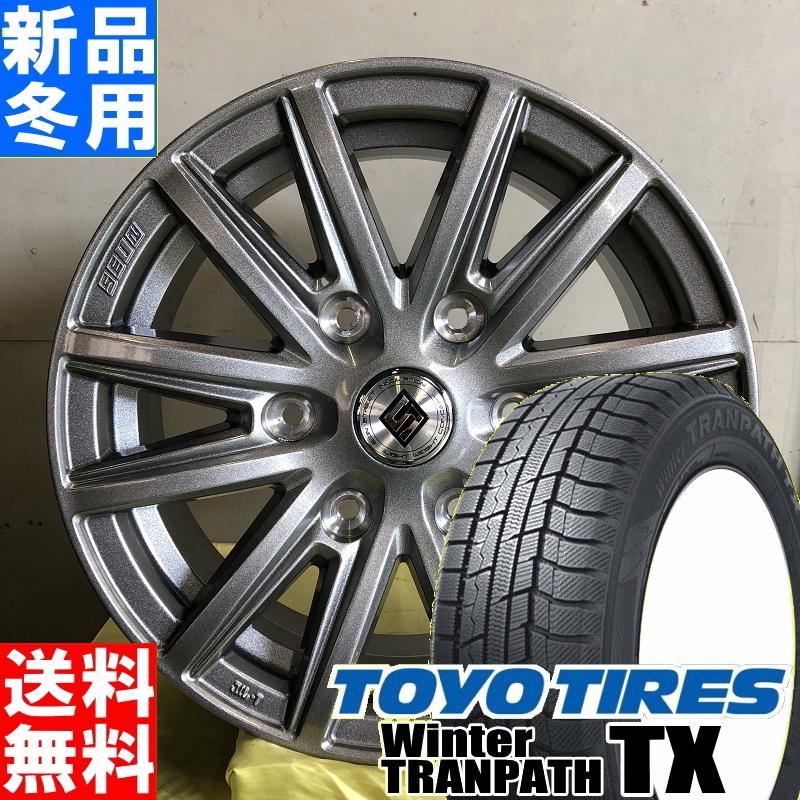 トーヨータイヤ TOYOTIRES ウィンタートランパス TX winterTRANPATH TX 215/70R15 冬用 新品 15インチ スタッドレス タイヤ ホイール 4本 セット SEIN SS 15×6.0J+33 6/139.7