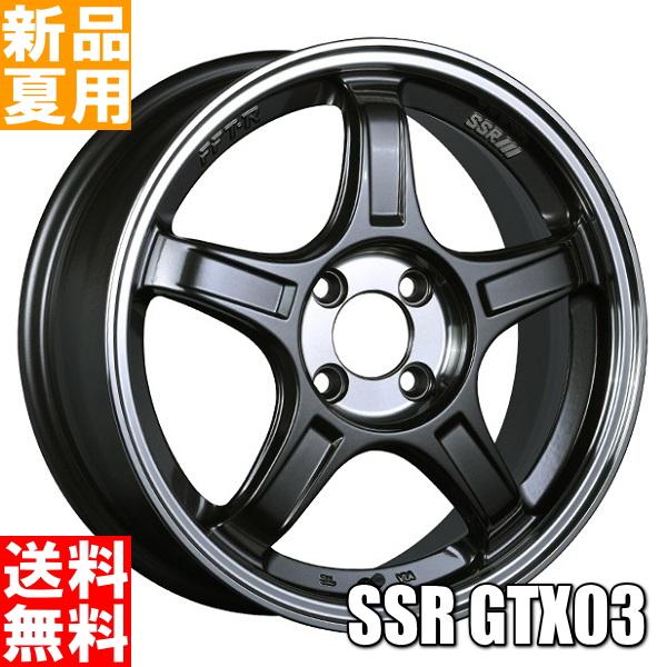 ブリヂストン BRIDGESTONE ポテンザ アドレナリン POTENZA Adrenalin RE003 195/45R17 17インチ スポーツ系 サマー タイヤ ホイール 4本 セット 夏用 SSR GTX03 17×7.0J+48 4/100