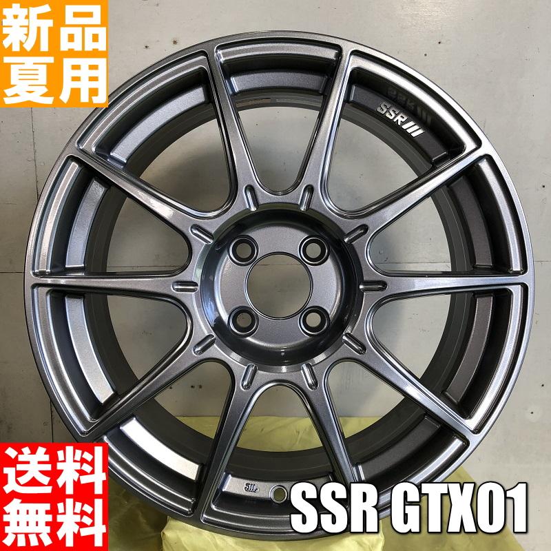 ラウフェン Lauffen G FIT EQ 185/65R15 15インチ スポーツ系 サマー タイヤ ホイール 4本 セット 夏用 SSR GTX01 15×6.0J+45 4/100