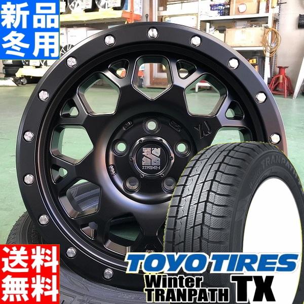 トーヨータイヤ TOYOTIRES ウィンター トランパス TX winter TRANPATH 215/70R16 冬用 新品 16インチ スタッドレス タイヤ ホイール 4本 セット MLJ XTREME-J XJ04 16×7.0J+38 5/114.3