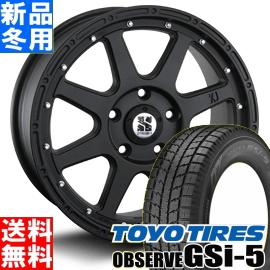 トーヨータイヤ TOYOTIRES オブザーブ GSi-5 OBSERVE 235/70R16 冬用 新品 16インチ スタッドレス タイヤ ホイール 4本 セット MLJ XTREME-J 16×7.0J+35 5/114.3