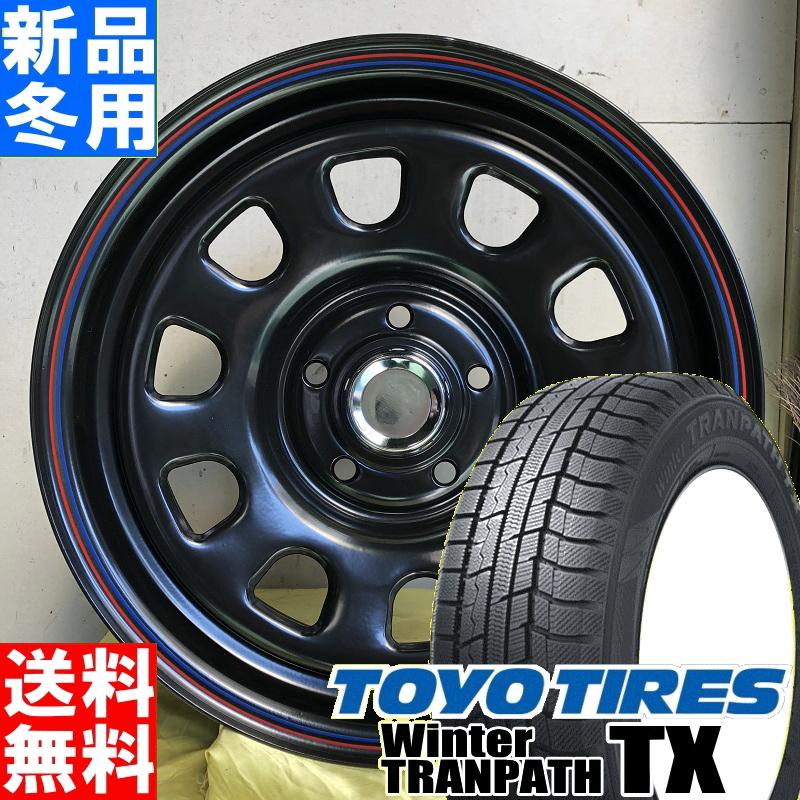 トーヨータイヤ TOYOTIRES ウィンター トランパス TX winter TRANPATH 215/70R16 冬用 新品 16インチ スタッドレス タイヤ ホイール 4本 セット MLJ DAYTONA SS 16×7.0J+38 5/114.3
