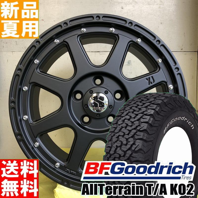 BFグッドリッチ BF.Goodrich オールテレーン All-Terrain T/A KO2 235/70R16 16インチ オフロード仕様 サマー タイヤ ホイール 4本 セット 夏 MLJ XTREME-J 16×7.0J+35 5/114.3