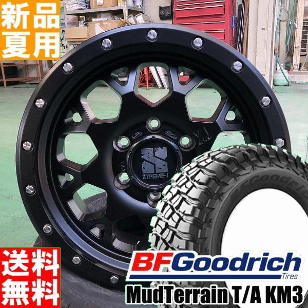 BFグッドリッチ BF.Goodrich マッドテレーン Mud-terrain T/A KM3 265/70R17 17インチ オフロード仕様 サマー タイヤ ホイール 4本 セット 夏用 MLJ XTREME-J XJ04 17×8.0J+20 6/139.7