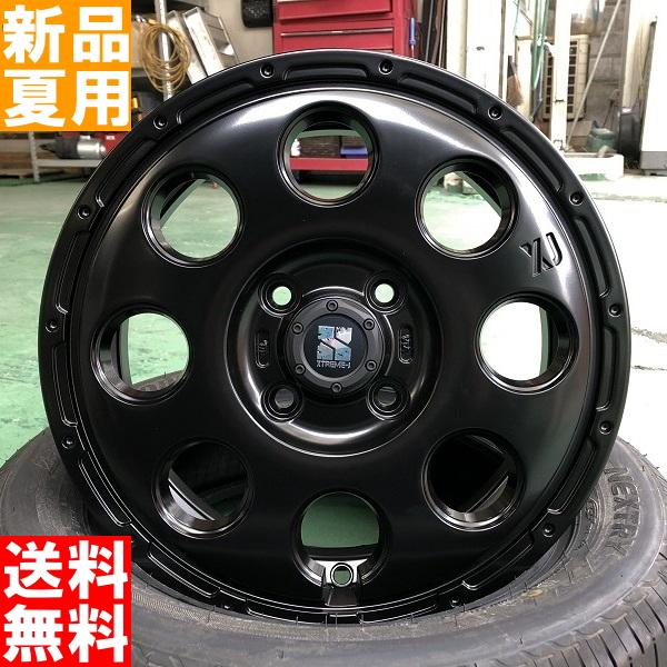 トーヨータイヤ TOYOTIRES トランパス LuK TRANPATH LuK 155/65R14 サマー タイヤ ホイール 4本 セット 14インチ 夏用 エクストリーム J XTREME-J KK03 14×4.5J+45 4/100