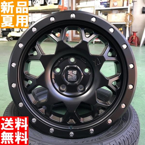 ラウフェン Lauffen G FIT EQ LK41 215/65R16 16インチ サマー タイヤ ホイール 4本 セット 夏 MLJ XTREME-J XJ04 16×7.0J+38 5/114.3