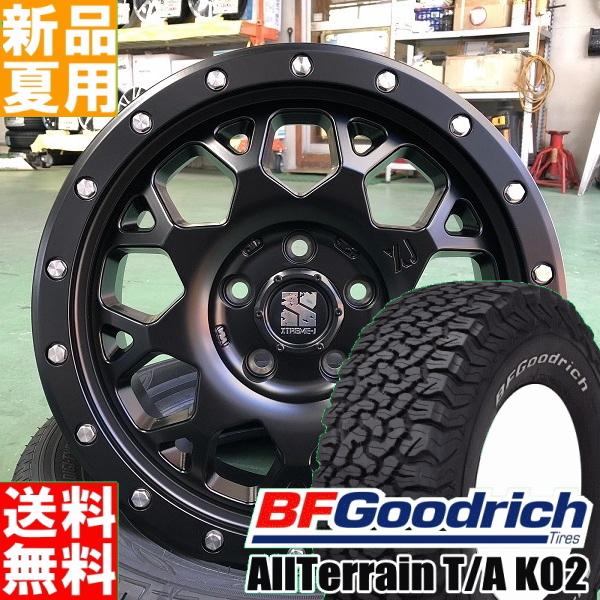 BFグッドリッチ BF.Goodrich オールテレーン All-Terrain T/A KO2 225/70R16 16インチ オフロード仕様 サマー タイヤ ホイール 4本 セット 夏 MLJ XTREME-J XJ04 16×7.0J+38 5/114.3