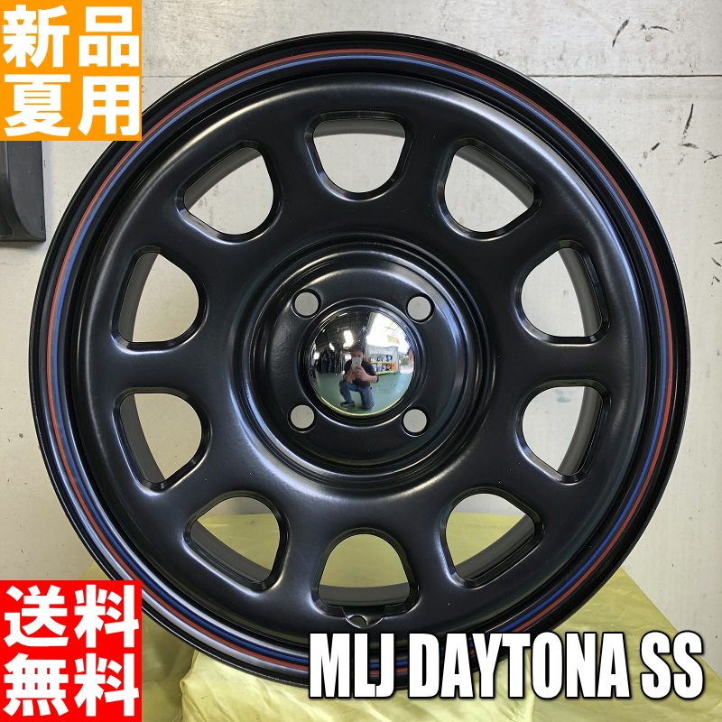 トーヨータイヤ TOYOTIRES ナノエナジー3 NANOENERGY3 155/65R14 14インチ サマー タイヤ ホイール 4本 セット 夏用 MLJ DAYTONA SS 14×5.0J+42 4/100