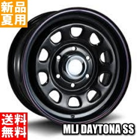 トーヨータイヤ TOYOTIRES V02 215/70R15 107/105 15インチ サマー タイヤ ホイール 4本 セット 夏用 MLJ DAYTONA SS 15×6.0J+45 6/139.7