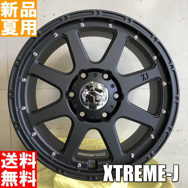ヨコハマ YOKOHAMA ジオランダー GEOLANDAR H/T G056 285/60R18 18インチ サマー タイヤ ホイール 4本 セット 夏用 MLJ XTREME-J 18×8.0J+25 6/139.7