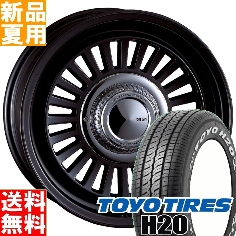トーヨータイヤ TOYOTIRES H20 215/65R16 109/107 サマータイヤ ホイール 4本 セット 16インチ DEAN CALIFORNIA 16×6.5J+38 6/139.7 夏用 新品