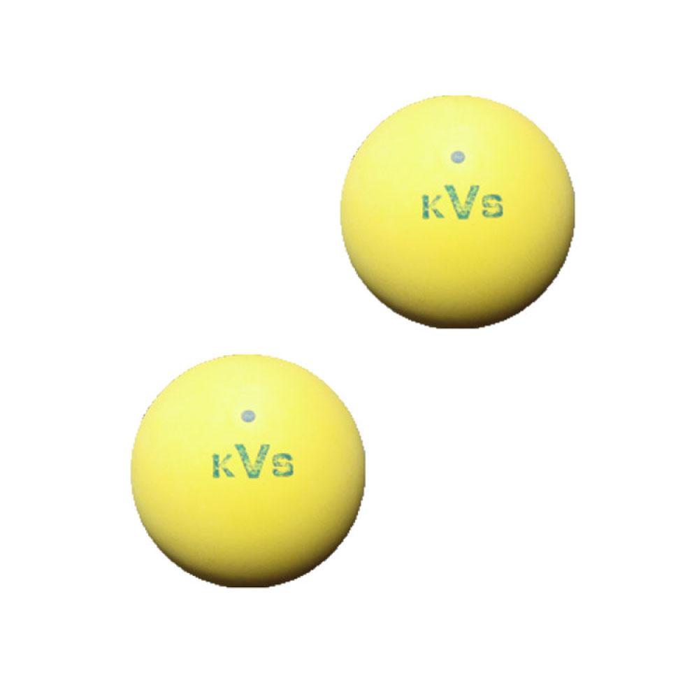 定価 テニスの練習用などでよく使われている練習用ボールです コクサイ 激安セール バルブ式 ソフトテニスボール2球入