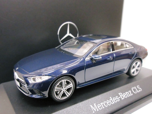 Mercedes Benz 特注 1/43 メルセデスベンツ CLS クーペ (バンサイトブルー) 2018