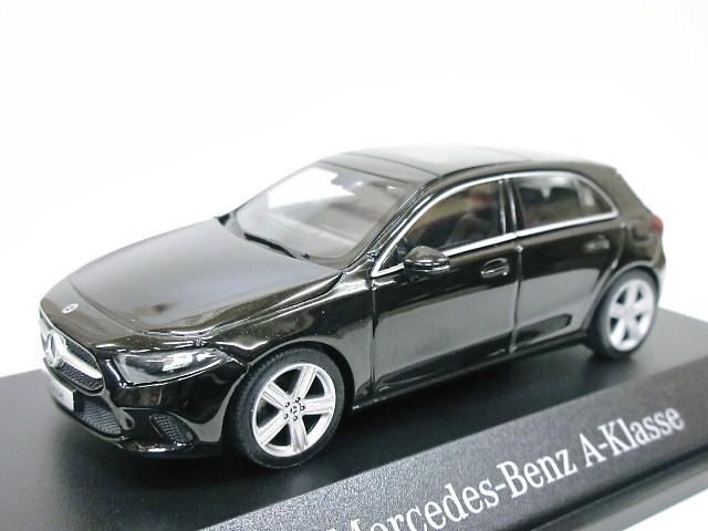 Mercedes Benz 特注 1/43 メルセデスベンツ Aクラス (ブラック) 2018 W177