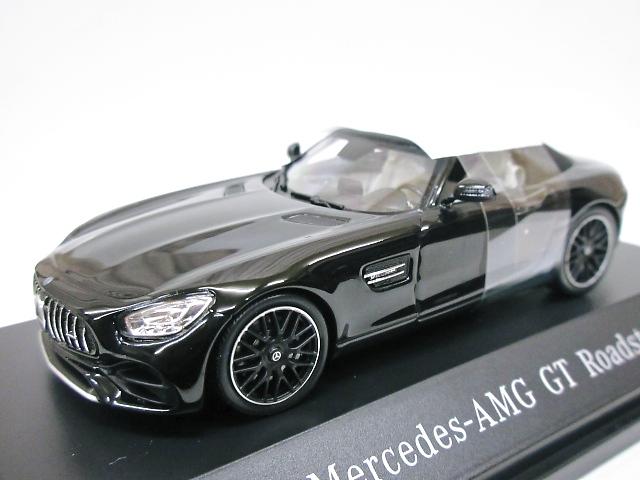 Mercedes Benz 特注 1/43 メルセデス AMG GT ロードスター (R190) ブラック 2018