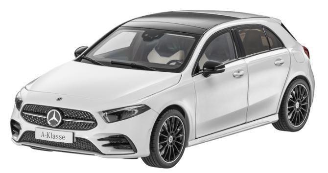 Mercedes Benz 特注 1/18 メルセデスベンツ 新型 A クラス (W177) ホワイト 2018