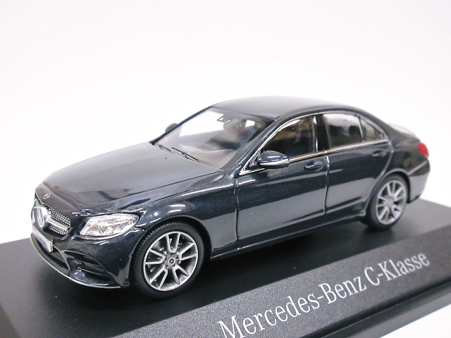 Mercedes Benz 特注 1/43 メルセデスベンツ Cクラス AMG Line (ブルーブラック) 2018 W205