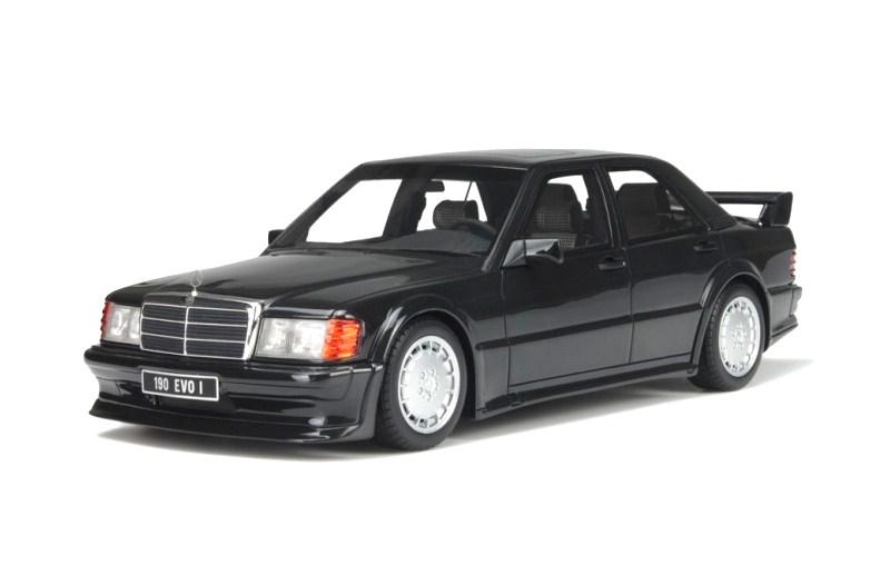 otto 1/18 メルセデスベンツ 190E 2.5-16 EVO 1 (ブラック) 1989