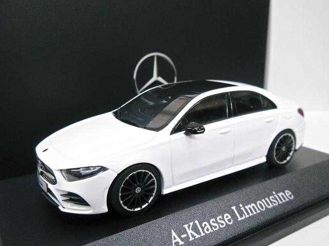 Mercedes Benz 特注 1/43 メルセデスベンツ Aクラス セダン (ホワイト) 2019 W177