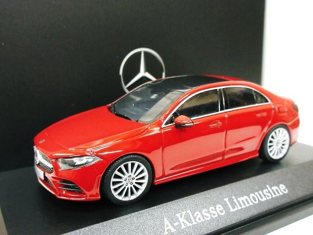 Mercedes Benz 特注 1/43 メルセデスベンツ Aクラス セダン (レッド) 2019 W177
