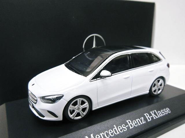 Mercedes Benz 特注 1/43 メルセデスベンツ Bクラス (ホワイト) 2019 W247