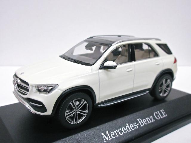 Mercedes Benz 特注 1/43 メルセデスベンツ GLEクラス (ホワイト) 2019