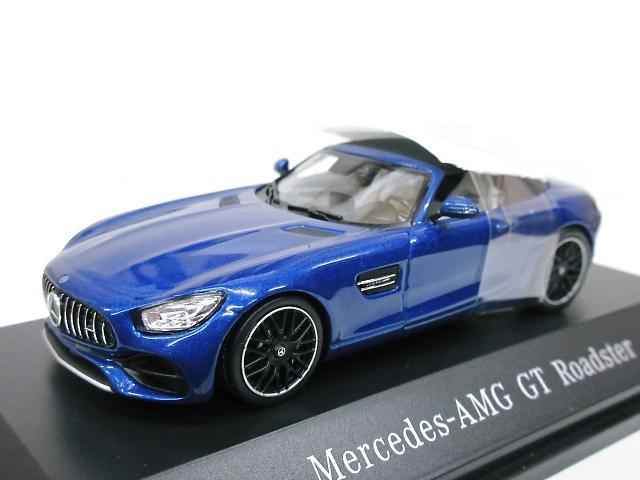 Mercedes Benz 特注 1/43 メルセデス AMG GT ロードスター (R190) ブルー 2018