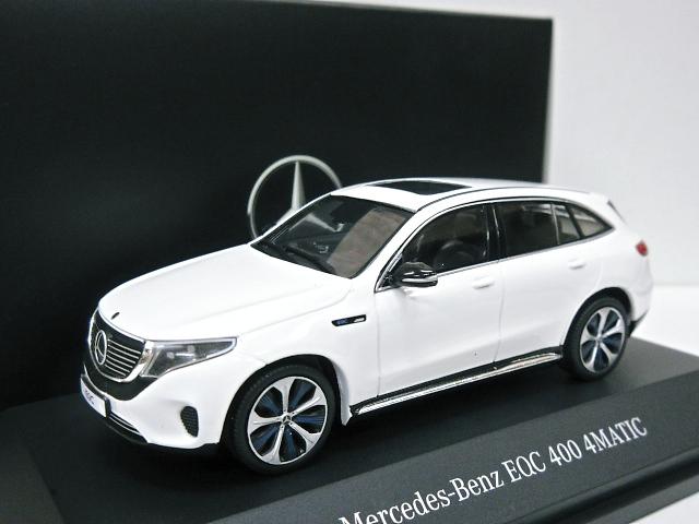 Mercedes Benz 特注 1/43 メルセデスベンツ EQC 4 MATIC (ホワイト) 2019