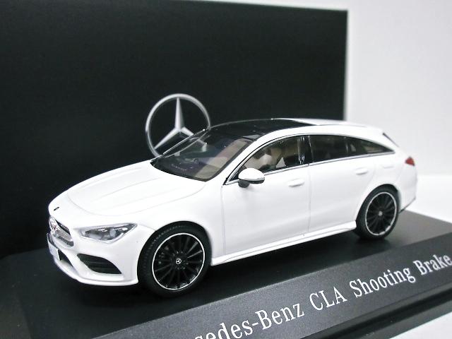 Mercedes Benz 特注 1/43 メルセデスベンツ CLA シューティングブレーク(ホワイト) 2019 X118