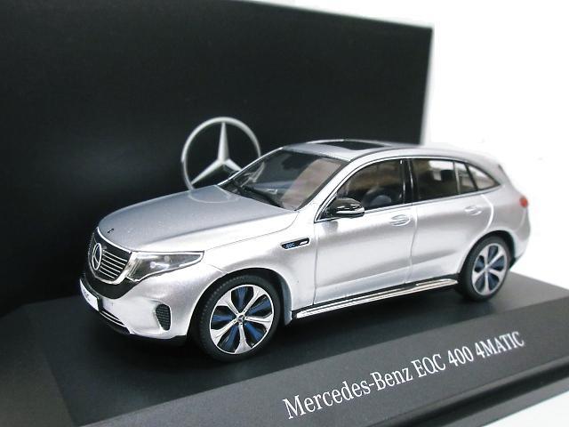 Mercedes Benz 特注 1/43 メルセデスベンツ EQC 4 MATIC (シルバー) 2019