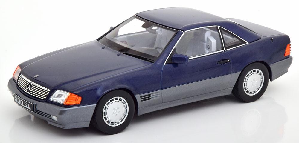 KK Scale 1/18 メルセデスベンツ 500 SL (ダークブルー) 1993 R129