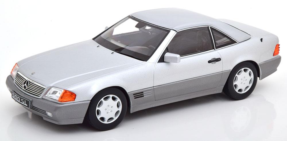 KK Scale 1/18 メルセデスベンツ 500 SL (シルバー) 1993 R129