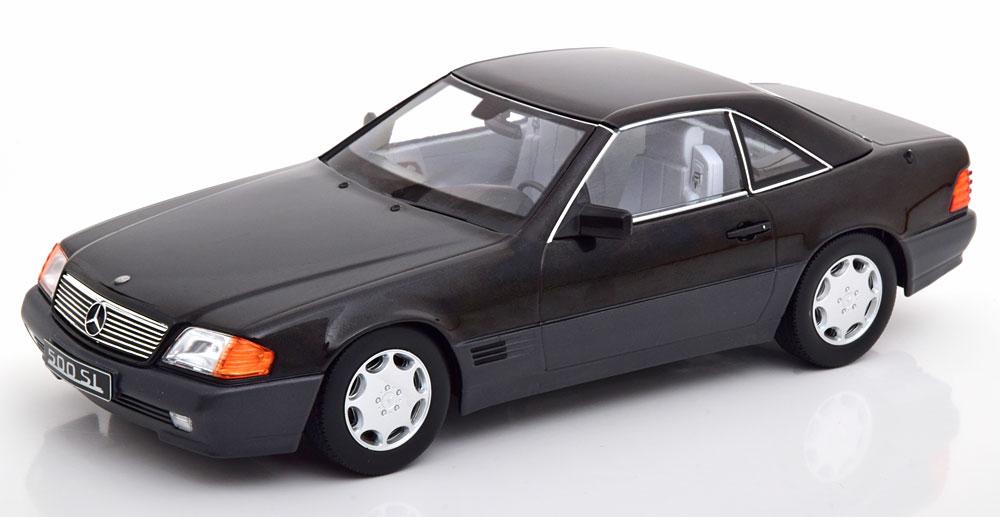 KK Scale 1/18 メルセデスベンツ 500 SL (ブラック) 1993 R129