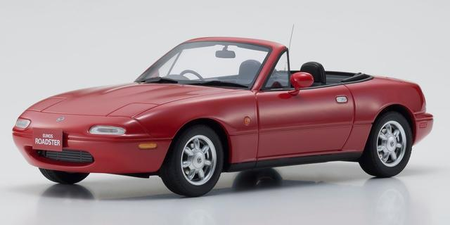 SAMURAI 1/18 ユーノス ロードスター (レッド) Eunos Roadster