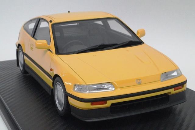 onemodel 1/18 ホンダ CR-X Si (イエロー) EF7