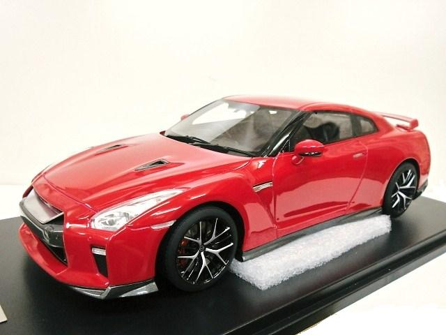onemodel 1/18 日産 R35 GT-R (レッド) 2017
