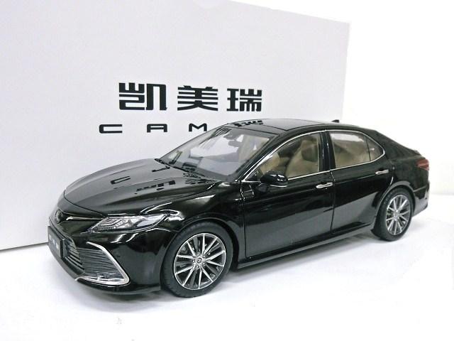 ラッピング無料 Paudi model パウディモデル 1:18 ミニカー TOYOTA特注 1 限定タイムセール ブラック トヨタ カムリ 2021 18 マイナーチェンジモデル
