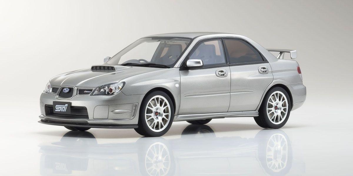 オットー 1:18 ミニカー otto mobile 返品不可 1 送料無料限定セール中 18 S204 STI インプレッサ OTM833 シルバー スバル