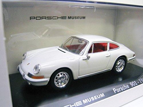 ポルシェ 人気海外一番 ミュージアム 1:43 ミニカー PORSCHE MUSEUM 特注 1 ホワイト 1964 901 ナロー 新作からSALEアイテム等お得な商品 満載 43 ※ドイツ国内専用モデル ポルシェ911